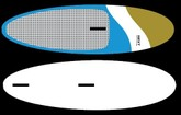 "Next Soft Sup  and WIndsurf  10'8""    31"" wide"